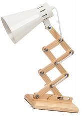 Rabalux 4430 Edgar, stolní dřevěná lampa