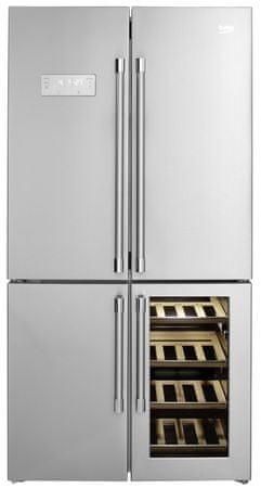 Beko ameriški hladilnik GN1416220CX