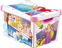 CURVER pudełko z pokrywką Księżniczki L