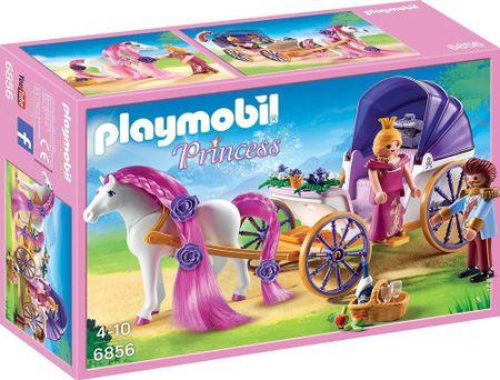 Playmobil 6856 Kraljevski par s kočijom