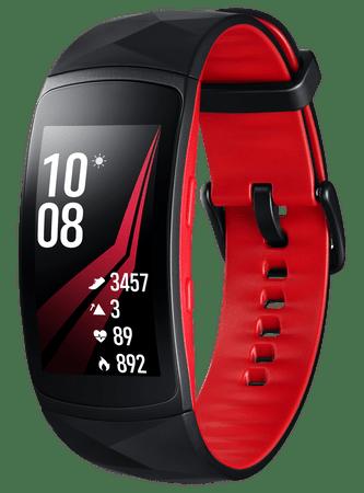 SAMSUNG Gear Fit2 Pro, červený