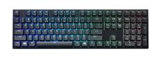 Cooler Master MasterKeys Lite L, herná klávesnica, US layout, čierna
