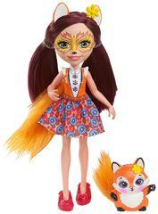 Mattel Enchantimals Lutka in njena lisička Felicity Fox