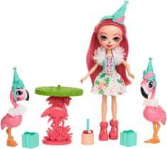 Mattel Enchantimals tématické balení Let's Flamingle