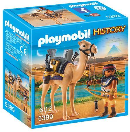 Playmobil Egipatski ratnik s devom (5389)