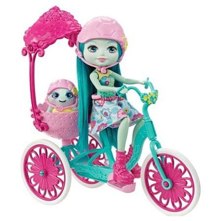 Mattel Enchantimals Rower dla dwojga + Taylee Turtle