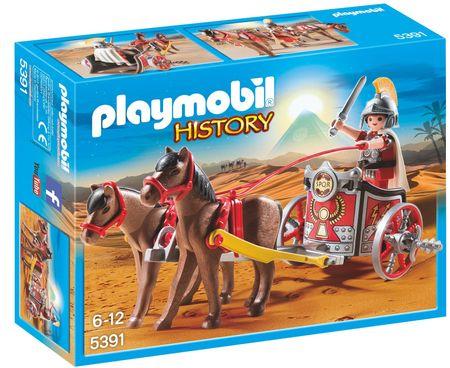 Playmobil 5391 Kétlovas római harcikocsi