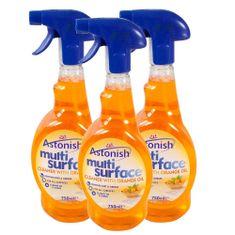 Astonish višenamjensko sredstvo za čišćenje s mirisom naranče 3 x 750 ml
