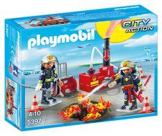 Playmobil 5397 vatrogasci s vodenom pumpom