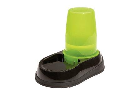 Maelson miska na wodę dla psa/kota Aquaa zielona/czarna 1,5 l