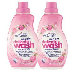 Astonish deterdžent za ručno i strojno pranje osjetljivog rublja, božur i magnolija, 2 x 840 ml
