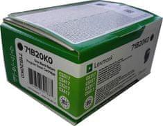 Lexmark toner 71B20K0, crni