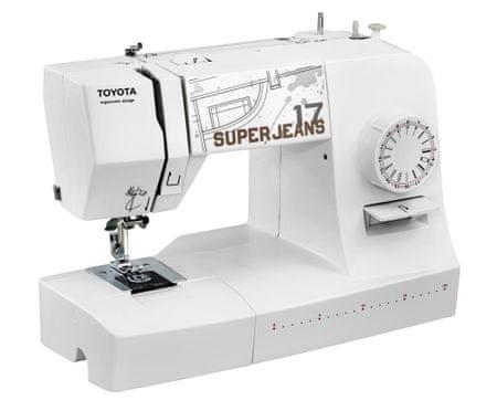 TOYOTA maszyna do szycia Super Jeans J17 white
