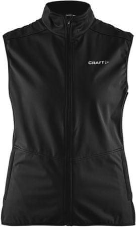 Craft ženska majica brez rokavov Vesta Warm, črna, XS