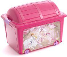 Kis skrzynia W Box Toy Style Princess 50 l