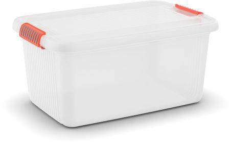 Kis K Latch Box L 43 l, transparentní