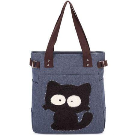Kaukko Kaukko torba Dizzy Cat, plava