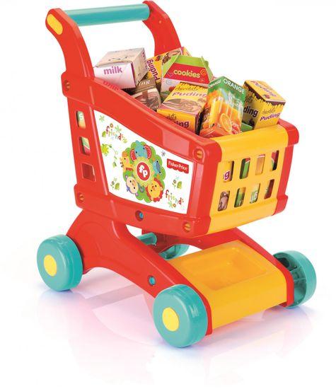 Fisher-Price DOLU Dětský nákupní vozík