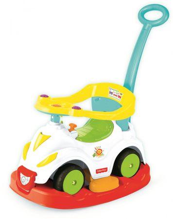 Fisher-Price jeździk samochodzik DOLU, huśtawka 4 w 1