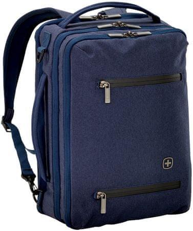 """Wenger CITYROCK - 15,6"""" notebook és tablet hátizsák, tengerészkék"""