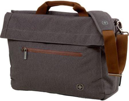 """Wenger SUNSCRAPER - 15,6""""notebook és tablet táska, szürke"""
