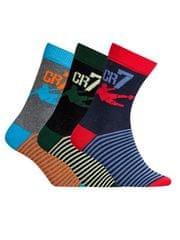 CR7 nogavice za dečke, 3 kosi (8470-80-439)