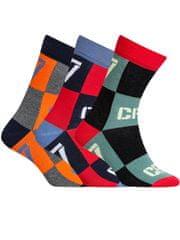 CR7 nogavice za dečke, 3 kosi (8470-80-442)