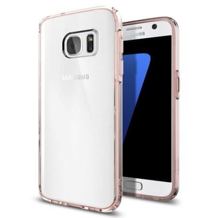 Spigen maskica Ultra Hybrid za Galaxy S7, roza
