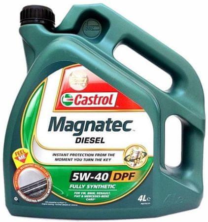 Castrol olje Magnatec Diesel DPF 5W40, 4L