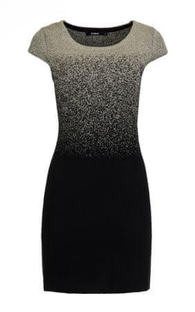 Desigual női ruha Heather XS szürke