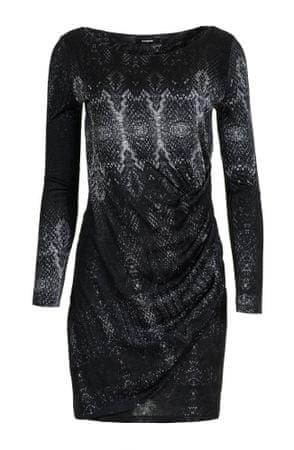 ca1abe8d3e93 Desigual női ruha Bonnie XS fekete | MALL.HU