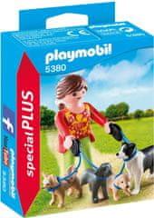 Playmobil 5380 Sprehajalka psov