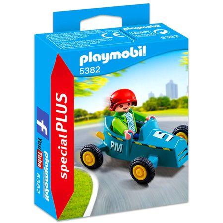 Playmobil 5382 Deček z gokartom