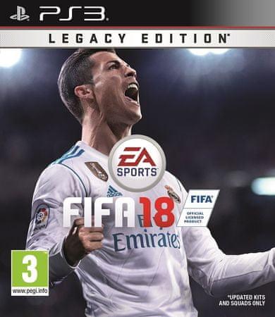 EA Games FIFA 18 - Legacy edition PS3