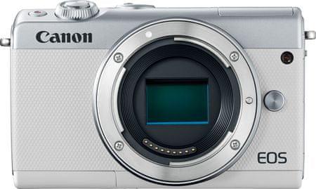 Canon aparat bezlusterkowy EOS M100 Body, biały