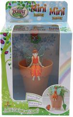 Alltoys My Fairy Garden - narancssárga mini virágcserép