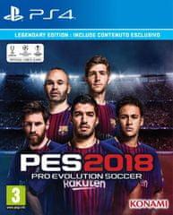 Konami PES 2018 (PS4) - Legendary Edition - Legendary Edition