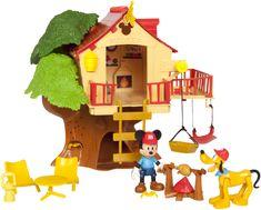 Mikro hračky Mickey Mouse stromový domček