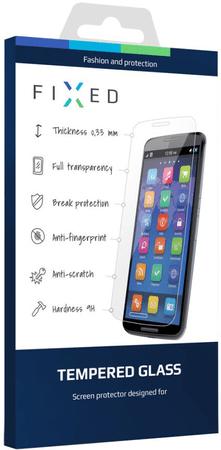 Fixed Kiváló minőségű 0,33 mm vastagságú keményített védőüveg, Xiaomi Redmi 4 Note Global, fehér