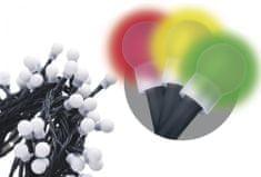 Emos večnamenska veriga Multi, 80 LED, 8 m, večbarvna