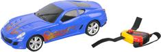 Mikro hračky Auto I-DRIVE s ovládacím náramkom modré