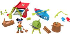 Mikro hračky Mickey Mouse sada na piknik s kloubovou figurkou 8cm