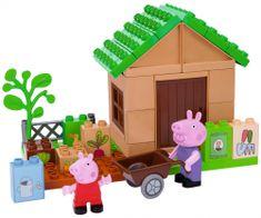 BIG PlayBig Bloxx Peppa Pig zahrádka