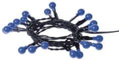 Emos svetlobna veriga s časovnikom Cherry, 20 LED diod, notranja, modra