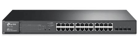 TP-Link mrežno stikalo JetStream TL-T1600G-28PS, 24-port