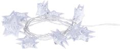 EMOS Girlanda hviezdička biela 10 LED 1,35 m teplá biela