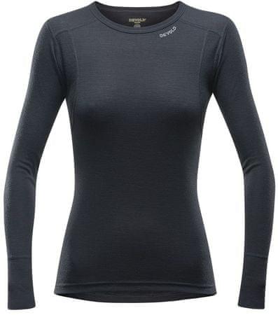 Devold Hiking Woman Shirt ženska športna majica, črna, L