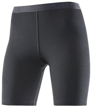 Devold Hiking Woman Boxer ženske spodnje hlače, črne, M