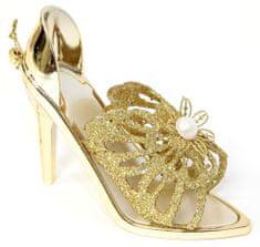Seizis ukras u obliku blješteće cipele, 10 cm, 2 kom