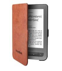 PocketBook pouzdro pro 614/623/624/626, skořepinové, černo-hnědé